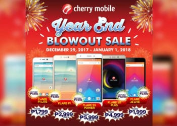 Cherry Mobile Year End Blowout Sale
