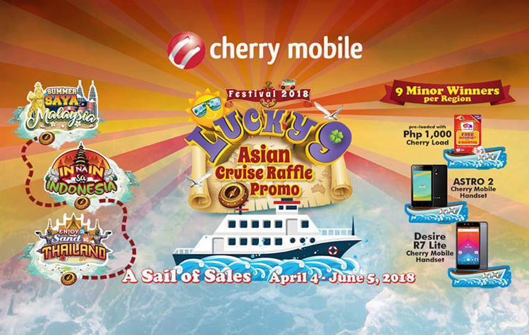 Win an Asian Cruise with the Cherry Mobile Festival 2018