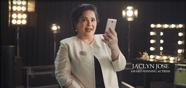 Jaclyn Jose and Lazada