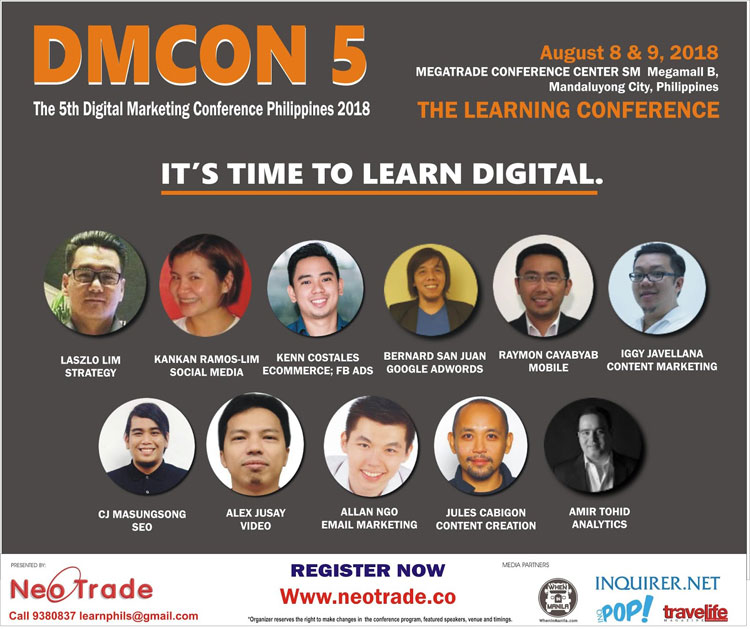 Digital Marketing Conference Philippines 2018