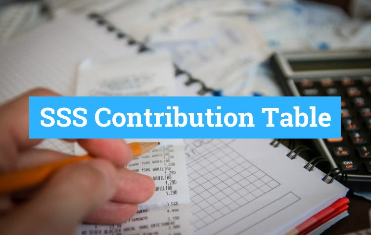 SSS Contribution Table and Payment Schedule for 2019 - Tech