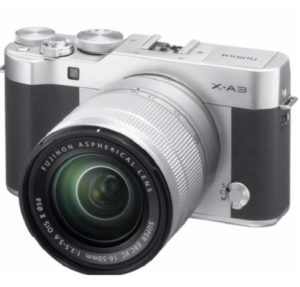 Fujifilm X A3 mirrorless digicam