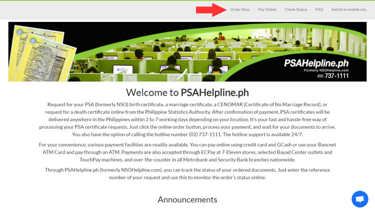 PSAHelpline.ph