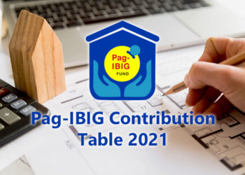 Pag-IBIG contribution table