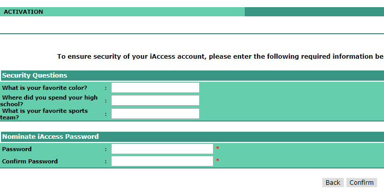 Landbank iAccess account activation