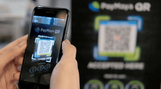 Pay with QR code