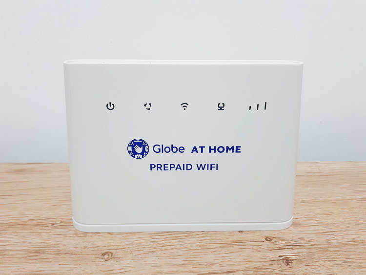 Globe at Home Prepaid WiFi front part