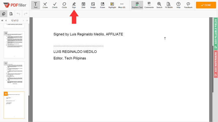 How to sign a PDF document with PDFfiller