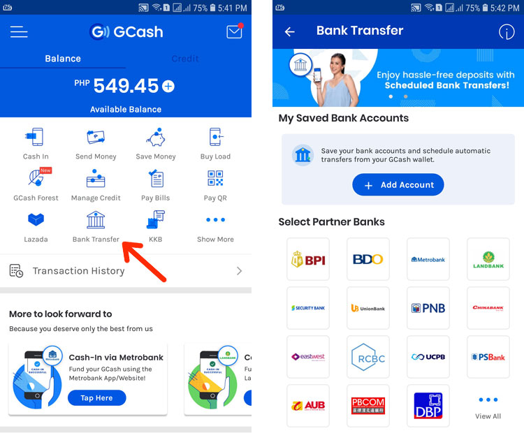 How to withdraw money from GCash