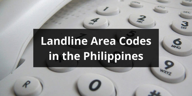 area codes in the Philippines