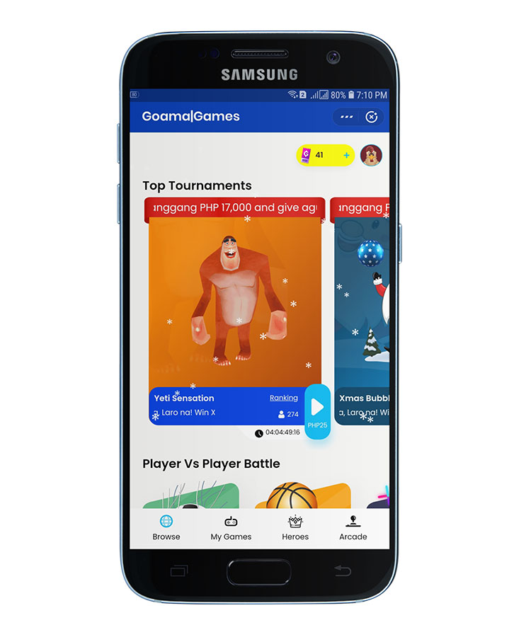 Earn money by playing games in GCash