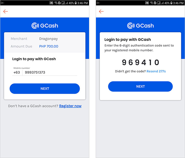 Pay for Shopee using GCredit