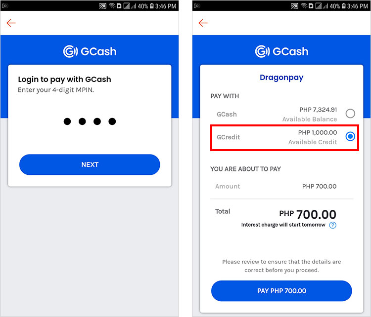 How to use GCredit to pay your Shopee order