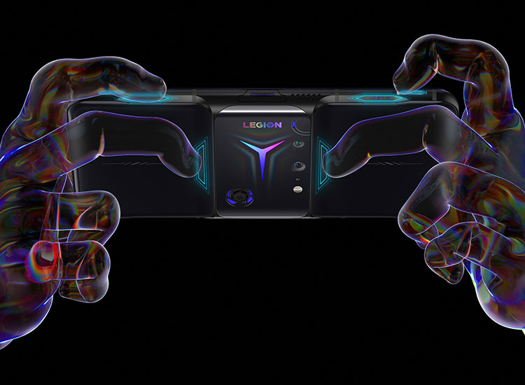 Natural console controller-like grip