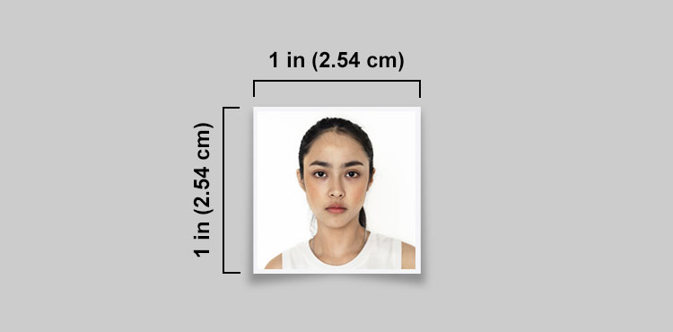 1x1 picture size